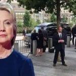 Hillary Clinton Faints While Waiting Transport To New York Hosptial