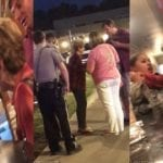 White Inferior Terrorists Female Besiege Pregnant Military Woman For Filming Her In Cheddars