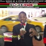 Brother Ben X First Time In NY Armed With The Teaching Of The Honorable Elijah Muhammad
