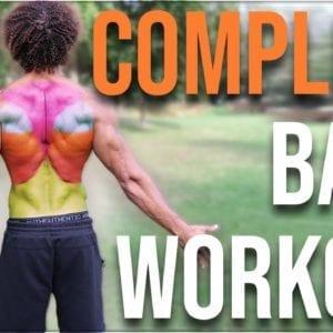 Best Bodyweight Back Workout - Calisthenics for Beginners/Intermediate/Advanced Level