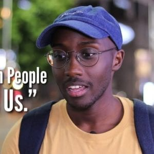 """... Korean People Love Us."" (Black in Korea) 