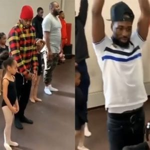 Changing The Narrative-Dads Attend Ballet Class With Daughters