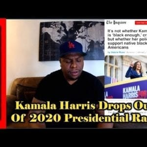Kamala Harris Drops Out Of 2020 Presidential Race
