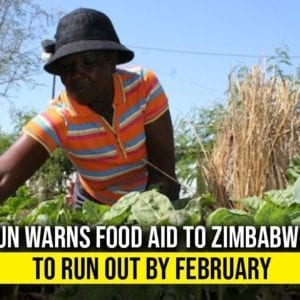 UN Report 8M Zimbabweans Will Starve By February Due To US/EU Sanctions On The Country